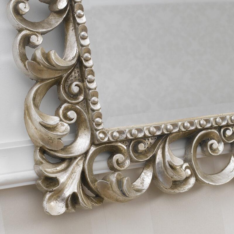 Espejo barroco plata