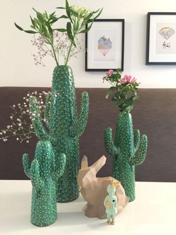 Jarrones para cactus