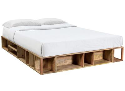 Reposapies cama blanco madera