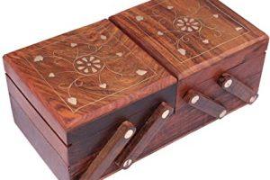Joyero musical madera