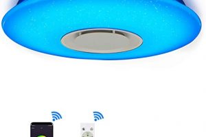 Lamparas de techo led wifi