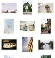 Marcos blancos para fotos de instagram