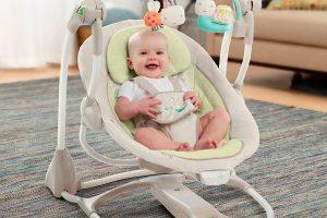 Sillas para bebés columpios y mecedoras